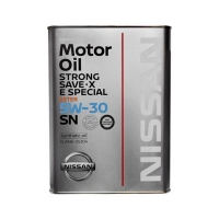 Моторное масло Nissan Strong Save E SPL SN 5W30, 4л